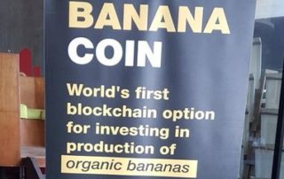 Бананакоин продается за Биткоин и Эфир