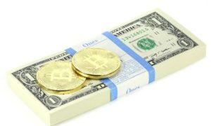 Слабый доллар толкает цены на криптовалюты и золото вверх