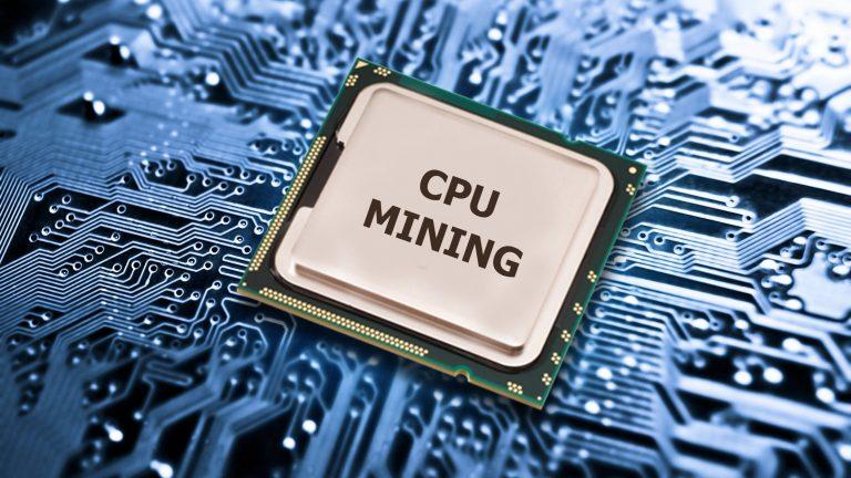 CPU МАЙНИНГ