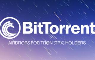 Аирдроп BitTorrent (BTT) держателям TRON (TRX) на Binance