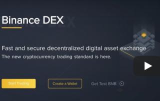 как зарегистрироваться на binance dex